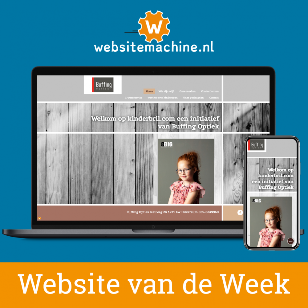 #Websitemachine website van de week: kinderbril.com